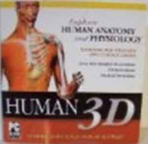 Human 3D Advanced PC DVD anatomy atlas medical dictionary body reference tools!