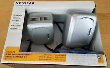 Netgear 54 Mps Wall-Plugged Wi Fi Range Extender Kit WGXB102