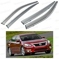 Window Visor Vent Shade Rain/Sun/Wind Guard for Nissan Altima 2013 2014 2015