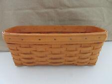 Vintage Longaberger - 1999 - Oblong Basket - 12 X 6 X 5