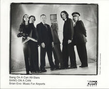 Bang On A Can All-Stars – Brian Eno: Music For Airports 1999 Press Kit + Photo