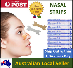 200Large Nasal Strips Anti Snore Help Better Breathe Easy Right Nose Congestion
