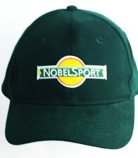 NWOT NOBEL SPORT HAT CAP GREEN AMMO SUPPLIER GUNS EMBROIDERED ONE-SIZE HUNT OTTO