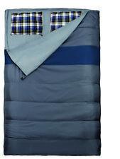 2 Personen Decken-Schlafsack mit Kissen 220x150cm bis +/- 0°C 3600g