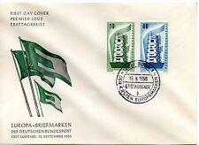 GERMANY - 1956  FDC EUROPA CEPT SET -