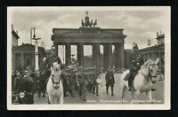Germany Real Picture Postcard German 3rd Reich Cover Wehrmacht Parade In Berlin