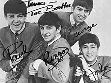 BEATLES in the 60s - print signed photo - foto con autografo stampato