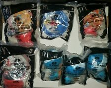 2004 The Incredibles McDonalds Happy Meal Toys Lot of 7 New