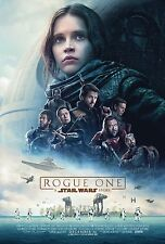 Rogue One A Star Wars Story Movie Poster (24x36) - Felicity Jones, Mikkelsen v1