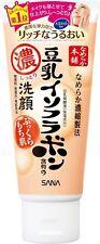 Nameraka Honpo Sana Soymilk isoflavones Moist cleansing face wash 150g Japan