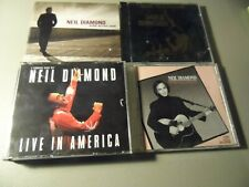 Neil Diamond 4 Cd Lot The Jazz Singer Live In America The Best Years of Our Live