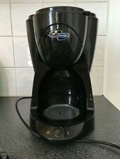 DeLonghi 10 cup coffee maker model ICM2.B with 2 spare coffee pots
