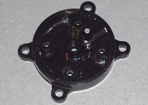 Cox .049 Black Widow Airplane Engine Fuel Tank Backplate - Aluminum Black 049