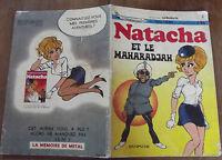 Ancien Album NATACHA ,et le  MAHARADJAH 1973