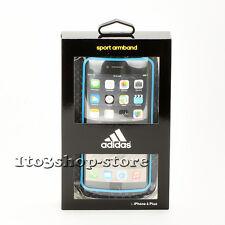 Adidas Sport Armband Case for iPhone 7 Plus iPhone 6s Plus (Blue/Black)