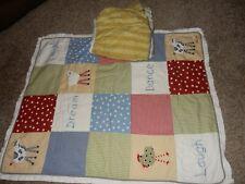 Kimberly Grant Farm Yard Barnyard Sheep Cow Quilted Crib Comforter Skirt Set