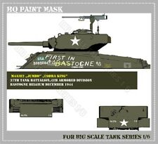 HQ PAINT MASK for SHERMAN TANK IN 1/6 SCALE  25