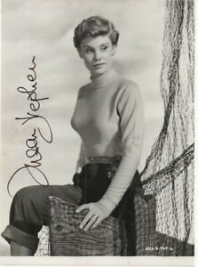 CARRY ON SUSAN STEPHEN 'GOLDEN IVORY 1954' HAND SIGNED AUTOGRAPHED 8x10 PHOTO