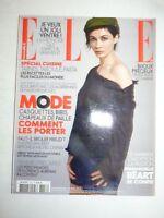 Magazine mode fashion ELLE French #3356 23 avril 2010 Emmanuelle Beart