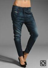 Women's Diesel Fayza 0815A jeans  dark blue colour size 25/32 BNWT RRP £220