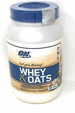 Optimum Nutrition On Whey & Oats Protein Powder Blueberry Muffin - EXP 3/20