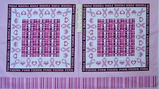"""24"""" Fabric Panel - Think Pink Breast Cancer Pillowcase - Windham"""