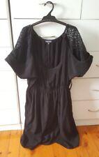 CITY CHIC Maxi LBD Lace Dress Black Plus Size S 14 16 18