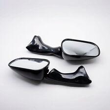Black Motorcycle Side Rear Mirrors For Honda CBR900RR 1993-1997 VFR750F 1994