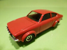 VEREM 70 OPEL KADETT  COUPE GTE - RED 1:43 - EXCELLENT CONDITION