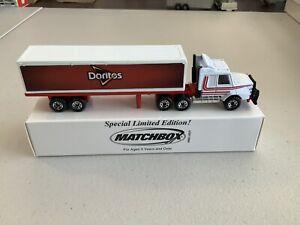 """Matchbox Convoy Cry-16 Scania Box Truck """"Doritos"""" See Description"""