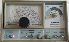 GW INSTEK RF SIGNAL GENERATOR GRG-450B Ham Radio Test Equipment!