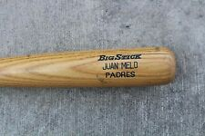 JUAN MELO GAME USED MINOR LEAGUE BAT SAN DIEGO PADRES