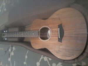 Taylor GS Mini-e Koa Acoustic Guitar with new backpack case