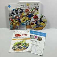 Mario Sports Mix (Nintendo Wii, 2011) Complete with Manual CIB Tested!