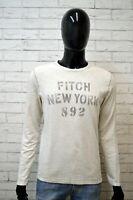 ABERCROMBIE & FITCH Maglia Uomo Taglia S Shirt Man Polo Camicia Chemise homme