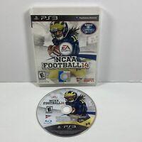 NCAA Football 14 (PlayStation 3 PS3, 2014) No Manual Tested! Working