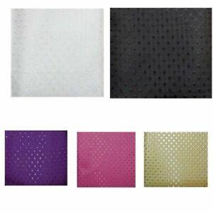 Fabric Diamond Design Bathroom Wet Room Shower Curtain 180/200/220cm Extra Long