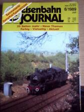 Eisenbahn Journal 6 1989 40 jahre DB 40 Jahre E 10