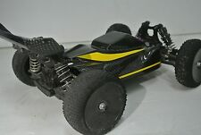 LOSI 1/14 MINI 8IGHT EIGHT 2XCFL REAL CARBON FIBER CONCEPT  BODY W/REAR SPOILER