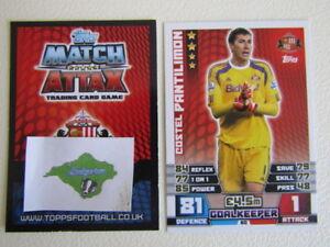 Topps Match Attax TCG 2014 ~ 2015 Football Cards Teams S ~ W Variants (ef2)