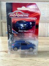 Majorette Renault Megane Coupe ech:1/64 Car Model Blue matte Racing Diecast