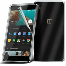 Ultra Thin Clear TPU Gel Skin Case Cover & LCD Film For OnePlus X / One Plus X