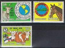 Ned. Antillen gestempeld 1979 used 618-620 - PAHO
