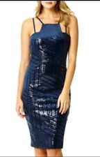 STUNNING Navy Quiz Dress Size 14