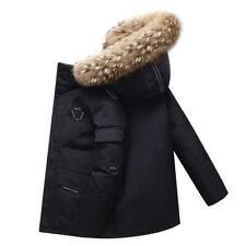 남여 공용 겨울 오리털 패딩 / 오리털 다운 자켓 - 【블랙-3XL】