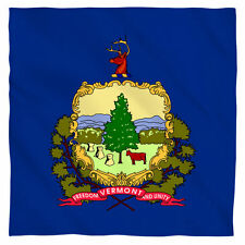 Bandana - The State Of Vermont Freedom and Unity Flag (22x22 inch)