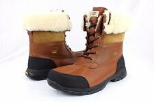 UGG AUSTRALIA BUTTE 5521 WATERPROOF WORCHESTER LEATHER BOOTS MENS SIZE 8.5 US