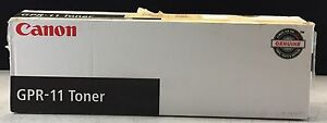 New OEM Canon GPR-11 Yellow Toner 7626A001[AA] (Sealed, Opened Box)