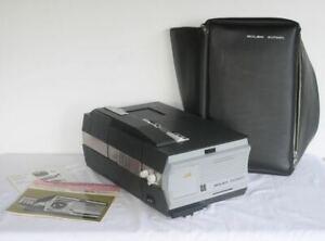 BOLEX Multimatic Super 8 Cartridge Projector. Kern Vario Switar Lens RARE
