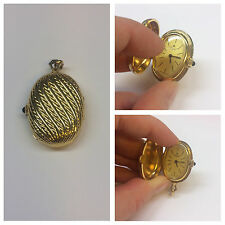 Taschenuhr Royal Kettenuhr swiss made vergoldet